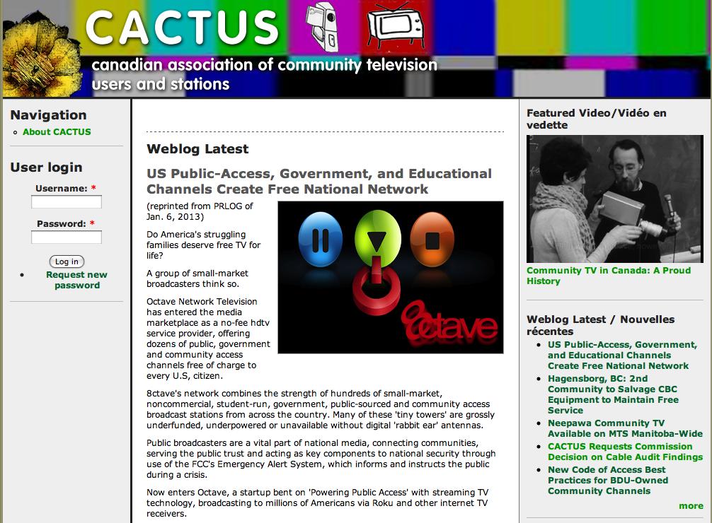 CACTUS | ACCESS TV